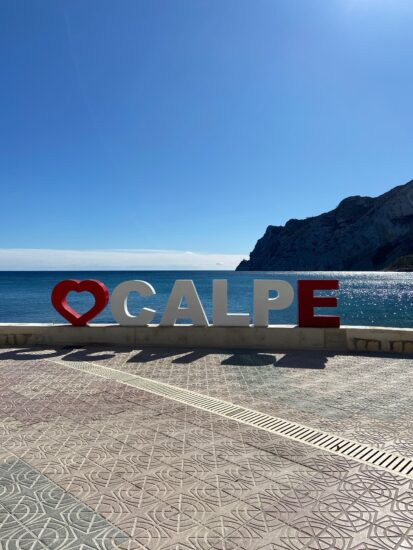 Autumn weather on the Northern Costa Blanca…